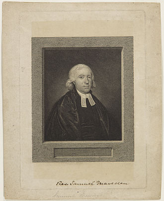 Samuel Marsden - Rev. Samuel Marsden, c.1809