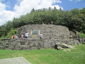 Revised Rockefeller Memorial at Newfound Gap IMG 5140.JPG