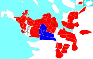Háaleiti og Bústaðir - Image: Reykjavík map (D05 Háaleiti og Bústaðir)