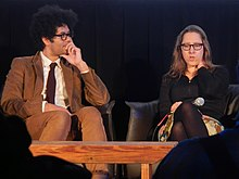 Richard Ayoade (The Double) and Maya Forbes (Infinitely Polar Bear) (12026102673).jpg