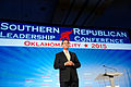 Rick Santorum at Southern Republican Leadership Conference, Oklahoma City, OK May 2015 by Michael Vadon 05a.jpg