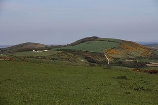 Ridgeway Hill mountain in United Kingdom