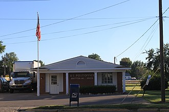 Britton, Michigan - Image: Ridgeway Township Britton Post office
