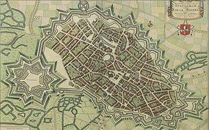 Rijsel, Frankrijk, Sanderus, Flandria Illustrata