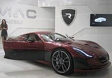 Rimac Electric Car Specs