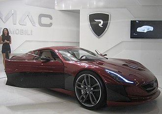 Rimac Concept One - Rimac Concept One at the 2011 Frankfurt Motor Show