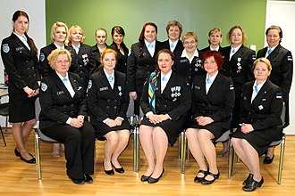 Estonian Defence League - Women's Corps members from Järva County.
