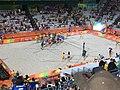 Rio 2016 - Olympic Games- 7 August Beach Volleyball (BV002) (29155442865).jpg