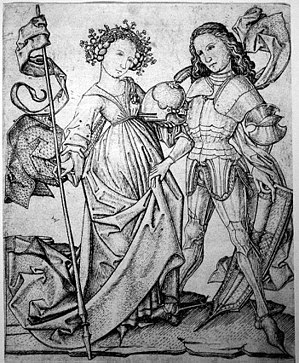 The Testament of Cresseid - Diomede and Cressida, perhaps