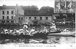Rive-de-Gier - Games on the canal basin