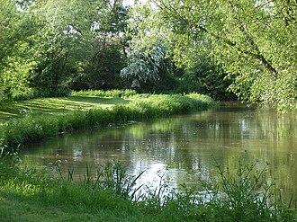 River Loddon - River Loddon near Stratfield Saye