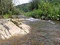 River under the mountain, Carpathia, Ukraine, Natural Heritage Site 21-212-5018.jpg