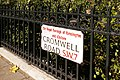 Road sign for Cromwell Road, London SW7 - geograph.org.uk - 1120892.jpg