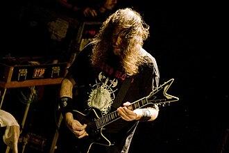 Rob Barrett - Image: Rob Barrett of Cannibal Corpse