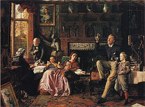 Robert Braithwaite Martineau - Robert Braithwaite Martineau, The Last Day in the Old Home (1862; Tate Gallery, London)