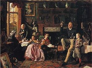 Robert Braithwaite Martineau - Robert Braithwaite Martineau, The Last Day in the Old Home (1862; Tate Gallery, London)