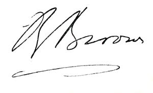 Robert Broom - Image: Robert Broom (signature)