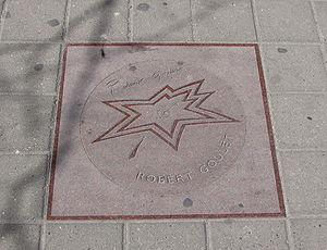 Robert Goulet - Robert Goulet's star on Canada's Walk of Fame