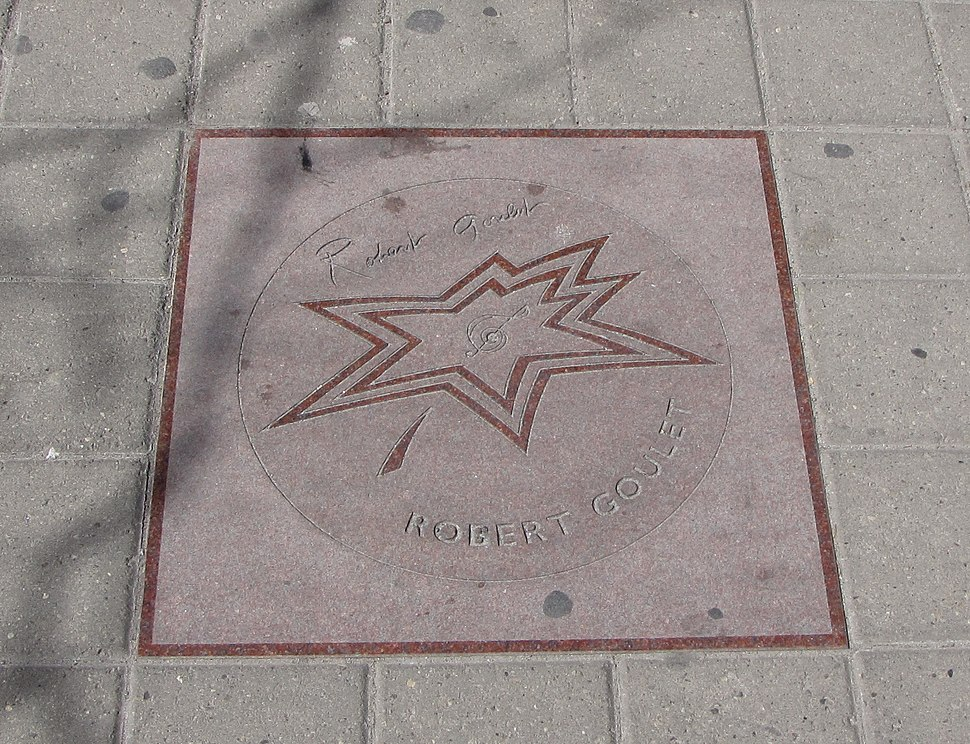 Robert Goulet star on Walk of Fame