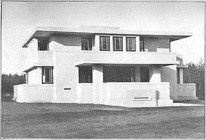 Robert van 't Hoff - Villa Henny, Huis ter Heide, Utrecht. 1915–1919.