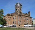 Roberts County, South Dakota, courthouse from SE 1.jpg