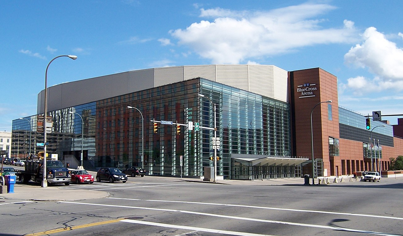 File Rochester Blue Cross Arena Nw Exterior Jpg