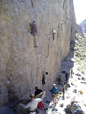 Owens River Gorge - Rock climbing in the Owens River Gorge.