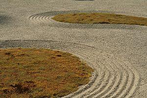 Portland Japanese Garden - Sand and Stone Garden