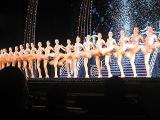 The Rockettes precision dance company