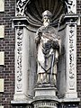Roermond H. Augustinus L Kloosterkapel Huis met de stenen Trappen.jpg
