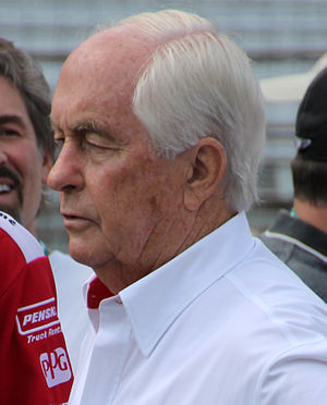 Roger Penske - Penske at the Indianapolis Motor Speedway for Carb Day for the 2015 Indianapolis 500