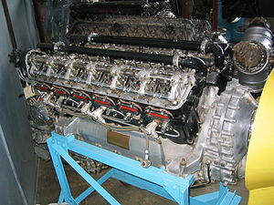 Rolls-Royce Kestrel - RR Kestrel VI with valve gear exposed
