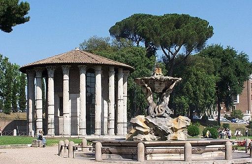 Roma Herculestempel BW 1