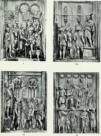 Adlocutio - Image: Roman sculpture from Augustus to Constantine (1907) (14781234585)