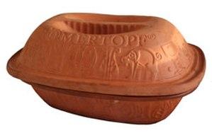 Clay pot cooking - A Römertopf