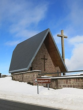 Roncevaux pass - Chapel San Salvador (west side).jpg