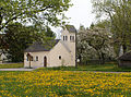 Ronsberg - Dingisweiler - Kapelle v NW, Löwenzahn.JPG
