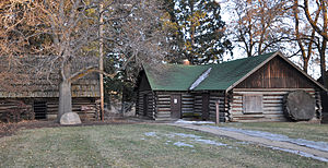 National Register of Historic Places listings in Lassen County, California - Image: Roop's Fort