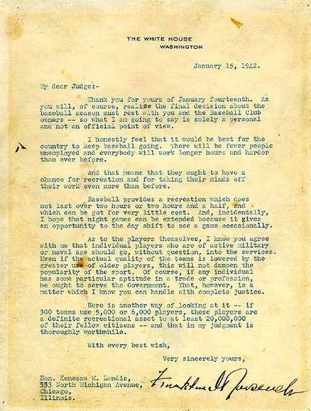 File:Roosevelt letter to Landis.jpg