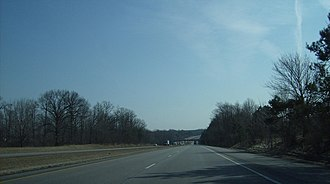 Rootstown Township, Portage County, Ohio - In Rootstown Township, Interstate 76 passes through many wooded hills