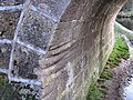 Rope marks on Spring's Bridge - geograph.org.uk - 1600438.jpg