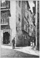 Roque Gameiro (Lisboa Velha, n.º 43) Entrada da Rua de S. Miguel (Alfama).png
