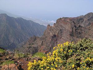 Roque de los Muchachos - Image: Roque de los Muchachos view 1