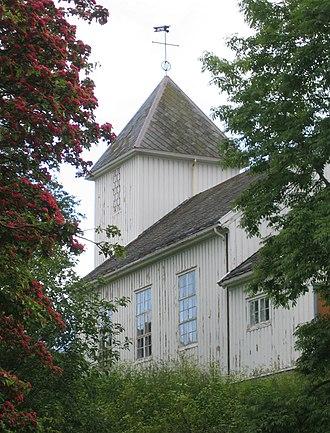 Rørvik - Image: Rorvik Kirche 1