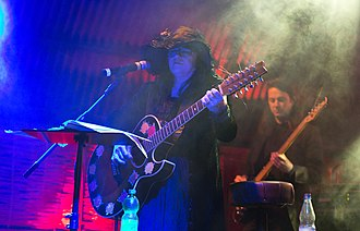 Rose McDowall - Image: Rose Mc Dowall Nocturnal Culture Night 10 2015 03
