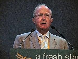 English: Ross Finnie, MSP addressing a Liberal...