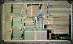 HyperSPARC - Ross hyperSPARC II CPU die photo