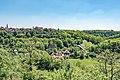 Rothenburg ob der Tauber, Blick vom Burggarten zum Kappenzipfel 20170526 002.jpg