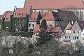 Rothenburg ob der Tauber, Stadtbefestigung, Burggasse 17, 15, Stadtmauer-20160108-001.jpg