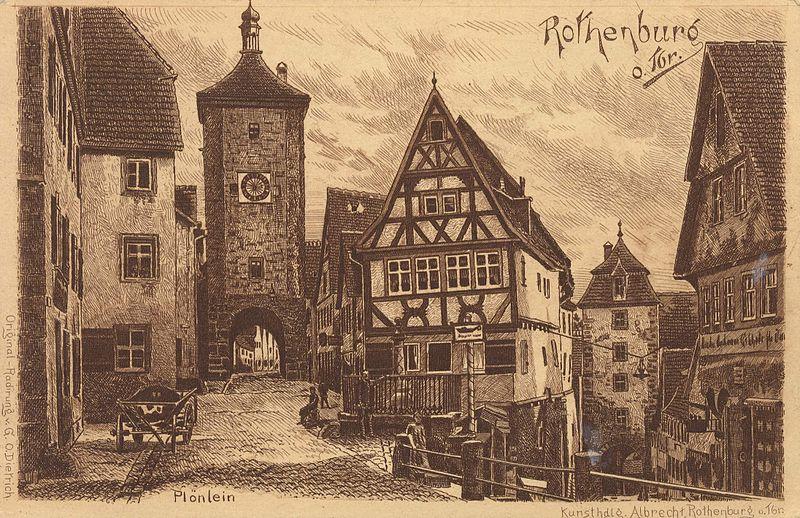 File:Rothenburg ob der Tauber Postkarte 004.jpg